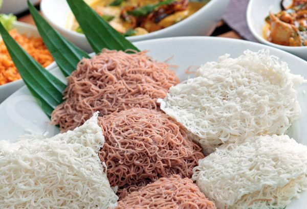 String Hoppers (Red or White Rice Flower)