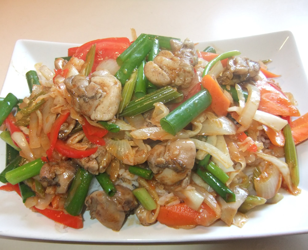 Mixed Vegetable Chop Suey